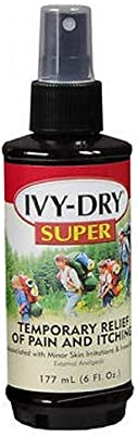 Ivy Dry Super 6z Size 6z Ivy Dry Super Itch Relieving Spray