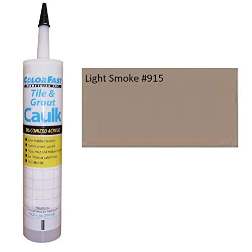 TEC Color Matched Caulk by Colorfast (Sanded) (915 Light Smoke)