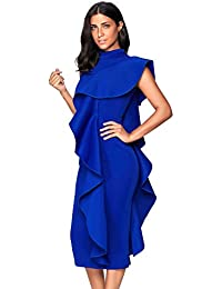 Amazon.com: High Neck - Knee Length / Cocktail / Dresses: Clothing, Shoes & Jewelry