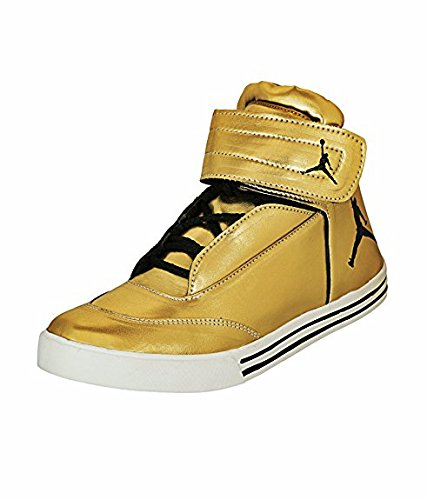 gold jordan shoes men