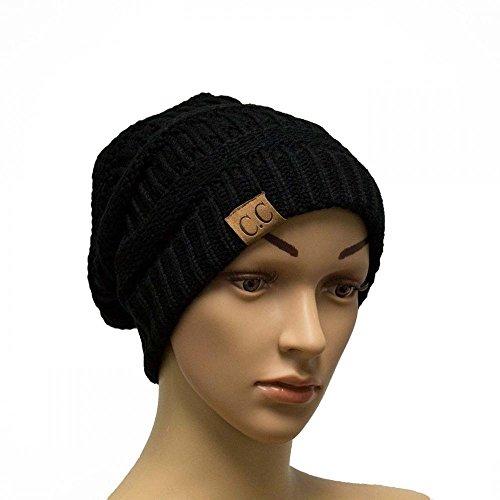 BK42_(US Seller)Winter Warm Hat Knit Beanie Hat