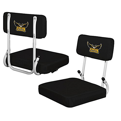 NCAA Kennesaw State Hard Back Seat, One Size, Multicolor by Logo Brands