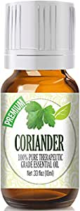 Coriander 100% Pure, Best Therapeutic Grade Essential Oil - 10ml