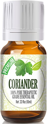 Coriander 100% Pure, Best Therapeutic Grade Essential Oil - 10ml