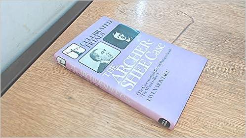 Archer-Shee Case (Celebrated Trials S.): Amazon.co.uk: Montagu ...