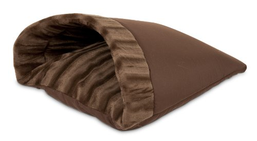 Aspen Pet Kitty Cave, 16-Inch by 19-Inch, Chocolate Brown, My Pet Supplies