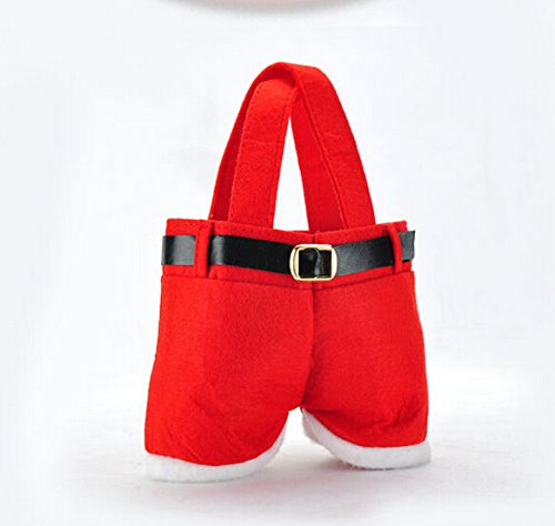 Decorations Wholesale Christmas (5pcs/lot Handbag Candy Pouch Bag Wedding Sack Present Gift Bag Girl Lady Christmas Decoration Cute Santa Lovely Wholesale Wonderful)