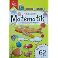Adım Adım Matematik Evde Eğlenerek Öğren 62 Soru - 4 Yaş Üstü