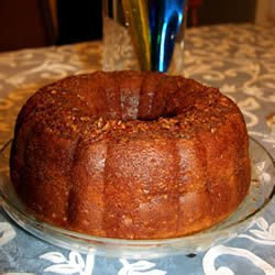 GOLDEN RUM CAKE GREAT DESSERT FOR THE HOLIDAY SEASON! ORGANIC! ()