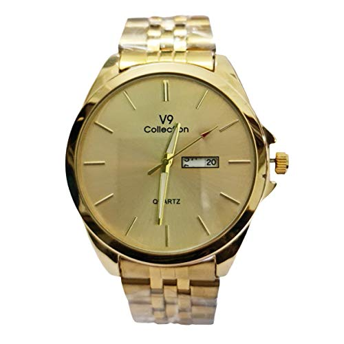 V9 Collection Black Dial Analog Men #39;s Watch