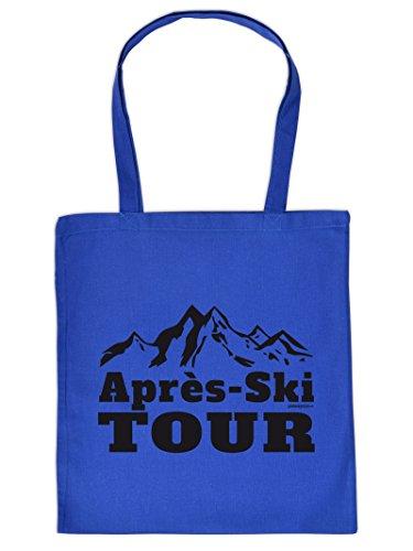 Tasche Apres Ski Henkeltasche Beutel mit Aufdruck Tragetasche Must-have Stofftasche Geschenkidee Fun Einkaufstasche Jqtm3uB42Q