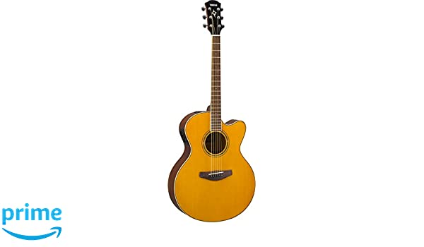 Yamaha CPX600 VT Acoustic-Electric Guitar, Vintage Tint