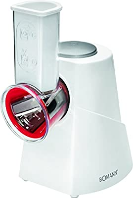 Bomann ME 467 Robot de cocina Multi Express para cortar y rallar, 5 funciones, 150 W, Blanco: Bomann: Amazon.es: Hogar