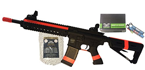 Valken Battle Machine Mod M Black Airsoft Alpha Viper Package (NY/CA Compliant) by AirsoftAlpha