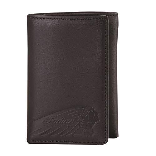 Indian Motorcycle Tri-Fold Wallet - Black