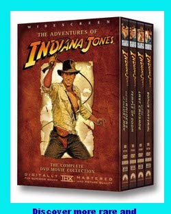 The Adventures Of Indiana Jones - The Complete DVD Movie Collection (Inkl. Bonus Material DVD) [HOLLAND IMPORT] (Alfred Molina Raiders Of The Lost Ark)