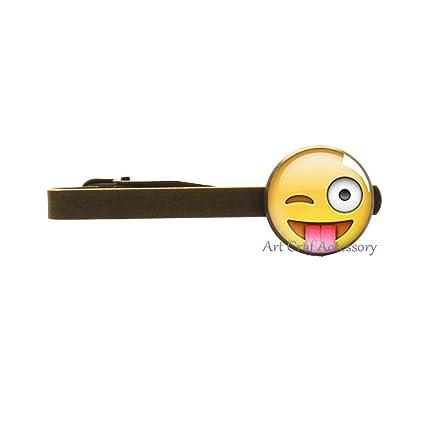 Emoji - Alfiler para corbata, emoticono sonriente, mejor regalo ...