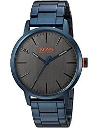Men's 'Copenhagen' Quartz and Stainless-Steel-Plated Casual Watch, Color Blue (Model: 1550059)