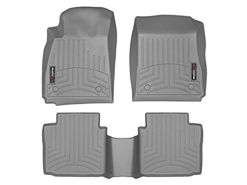WeatherTech (46534-1-2) FloorLiner, Front/Rear, (Gray Front Floor Liner)