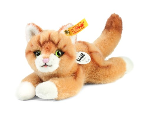 Steiff Little Friend Mizzy Cat Plush, Blond Steiff Cat