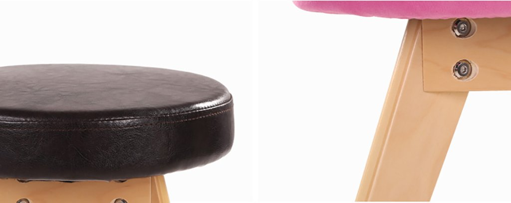 LI Jing Shop- Taburete de Cocina de Taburete Madera Maciza de Taburete Taburete de Simple Taburete de Mesa Taburete (Color : Cream Color) e73d92