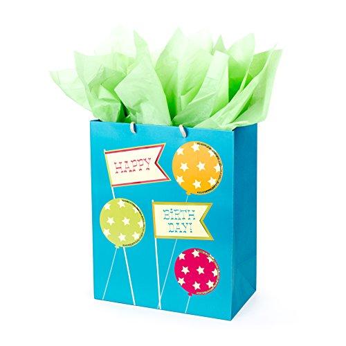 Hallmark Birthday Large Gift Bag with Tissue Paper (Happy Birthday to (Hallmark Gifts)