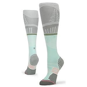 Stance Fleshman OTC Socks - Women's Grey Medium