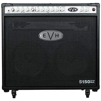 evh 5150 iii 50 watt 2x12 tube combo amp black musical instruments. Black Bedroom Furniture Sets. Home Design Ideas