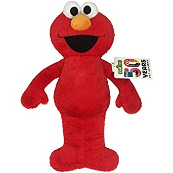 Jay Franco Sesame Street Plush Stuffed Elmo Large Pillow Buddy - Super Soft Polyester Microfiber, 22 inch (Official Sesame Street Product)