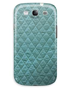 Pleated Turquoise Diamonds Case for your Galaxy S3