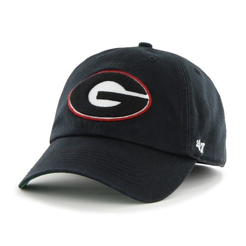 Dogs American Made T-shirt - '47 NCAA Georgia Bulldogs Franchise Fitted Hat, Black, Large
