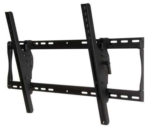Peerless ST650P Tilt Wall Mount for 39 to 75-inch Displays, - Panel Mounting System Black Flat
