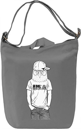 Hipster eagle Borsa Giornaliera Canvas Canvas Day Bag| 100% Premium Cotton Canvas| DTG Printing|