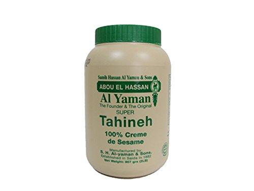 Al Yaman libanés Original Sésamo Tahini 454g / 16 oz.: Amazon.es: Alimentación y bebidas