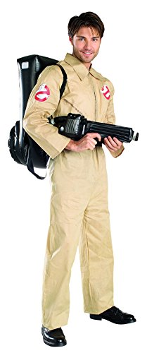 Sexy Ghostbusters Costumes (16529 (Std Large) Ghostbusters Costume with Inflatable Backpack)
