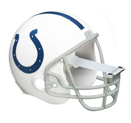 Scotch Magic Tape Dispenser, Indianapolis Colts Football Helmet with 1 Roll of 3/4 x 350 Inches Tape
