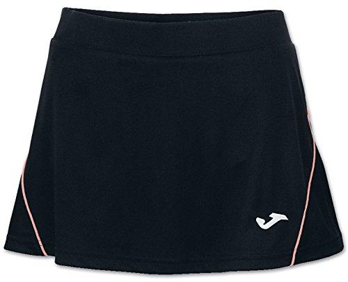 Joma Vetement de Sport Falda Skirt Tennis Katy Woman Size 2XL Color Negro-Coral
