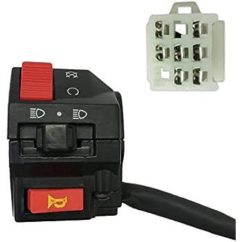 Amazon.com: Left Switch embly for Kazuma Falcon 110cc ... on
