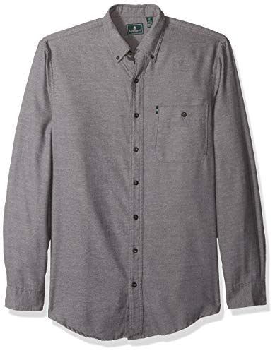 G.H. Bass & Co. Men's Big and Tall Jaspe Flannel Long Sleeve