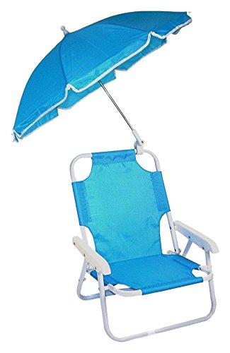Redmon Beach Baby Umbrella Chair Blue