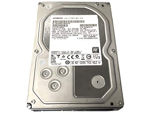 HGST Ultrastar 7K4000 4TB 64MB Cache 7200RPM SATA III (6.0Gb/s) 3.5inch Internal Enterprise Hard Drive -5 Year Warranty