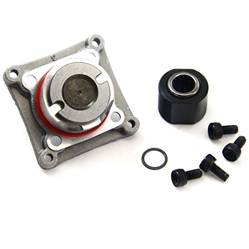 Traxxas Nitro Rustler TRX 2.5 ONE WAY BEARING, STARTER SHAFT & BACKPLATE ()