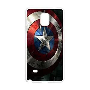 Comics Shield Of Captain America Samsung Galaxy Note 4 Cell Phone Case White 91INA91290854