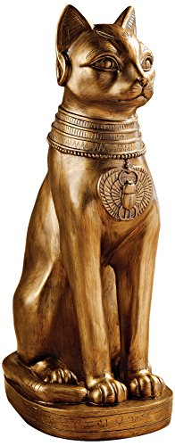 Design Toscano Golden Bastet of Ancient Egypt (Bastet Ancient Egypt)