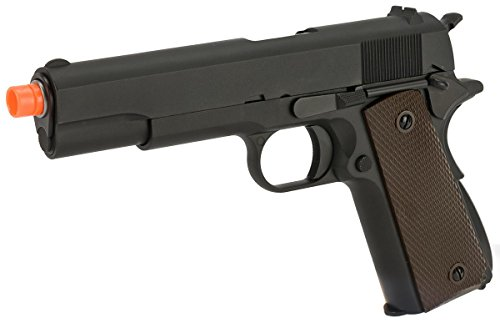 Evike - WE-USA NG3 1911 GI Full Size Airsoft GBB Pistol - (25014)