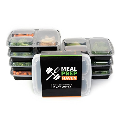 Meal Prep Haven Compartment Containers