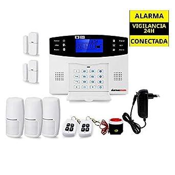 Kit alarma sin cuotas AZ017 con 3 sensores de movimiento y 2 ...