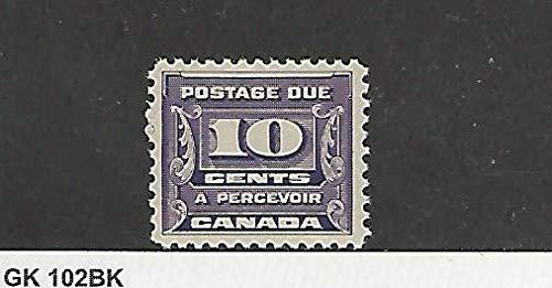 Canada, Postage Stamp, J14 Mint NH, 1933, JFZ