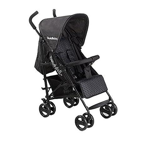Bebedue - Silla de paseo bebé due goldbaby negro