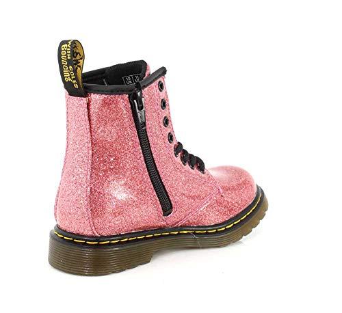 Eu Glitter J Dr Kids Stivali 1460 36 Coated martens Synthetic Pink txxSvAqwg